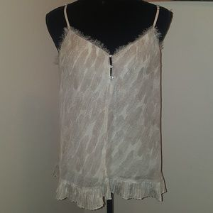 Vera Wang Princess sleeveless blouse. Size L